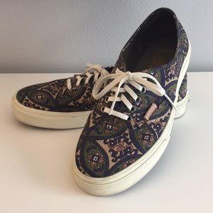 Vans Paisley Print Sneakers